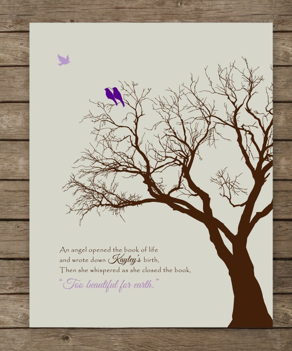 Personalized Memorial Gift Loss Of Loved One Miscarriage
