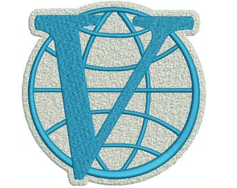 Machine Embroidery Design Instant Download - Venture Brothers Venture Industries Logo 2