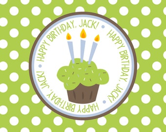 Personalized Placemat - birthday boy 12x18 laminated placemat
