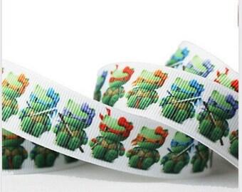 Hello Kitty Ninja Turttles 7/8 Ribbon