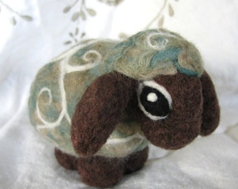 Felted Sheep-Mouton