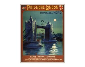 London #3 - Vintage Travel Poster (187119293)