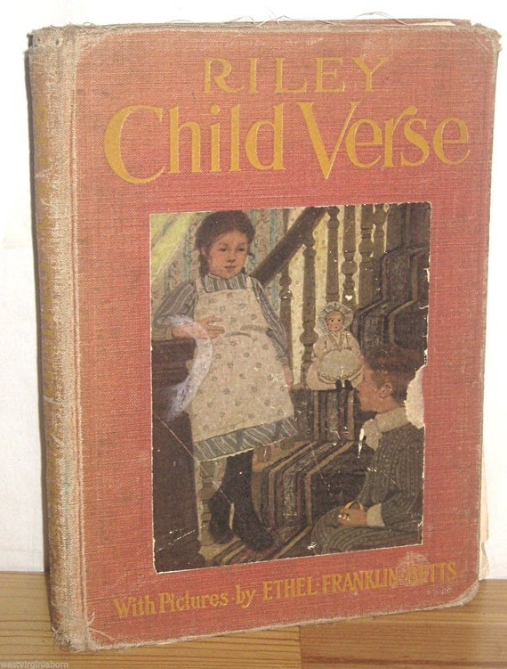 James Riley Riley Child Verse 1906 Story By Kathysvintageitems