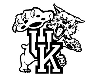 uk wildcat coloring pages - photo#4
