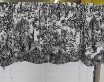 Toile curtain | Etsy