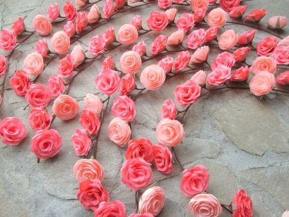 Guirlande avec fleurs en papier de mariage arch - Guirlande fleurs papier ...