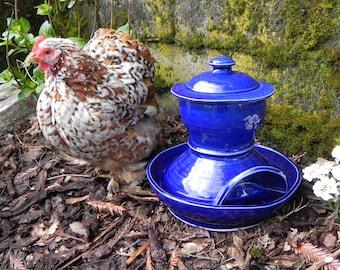 Ceramic Chicken Waterer