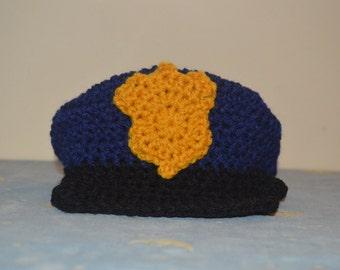 Toddler Police Hat Etsy