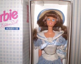 Vintage Barbie as Little Debbie cake girl- collectible Advertising doll Barbie- NIB Little Debbie Barbie- Collector edition Barbie