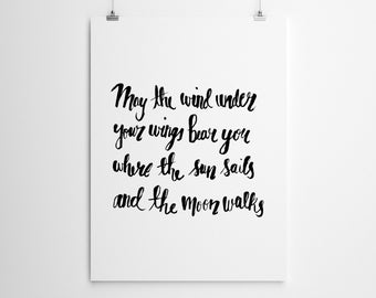 The Hobbit quote illustration   digital download   inspirational quote ...