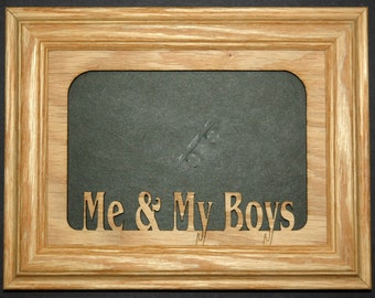 Me and My Boys Picture Frame 5x7