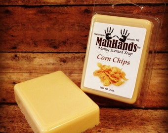 Corn Chips Scented Soap 3 oz. Bar