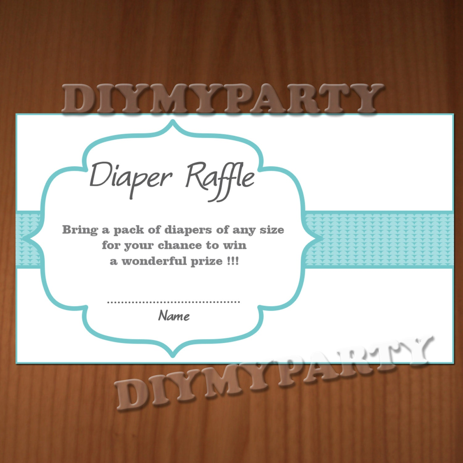 baby shower diaper raffle ticket diaper raffle cards diapers