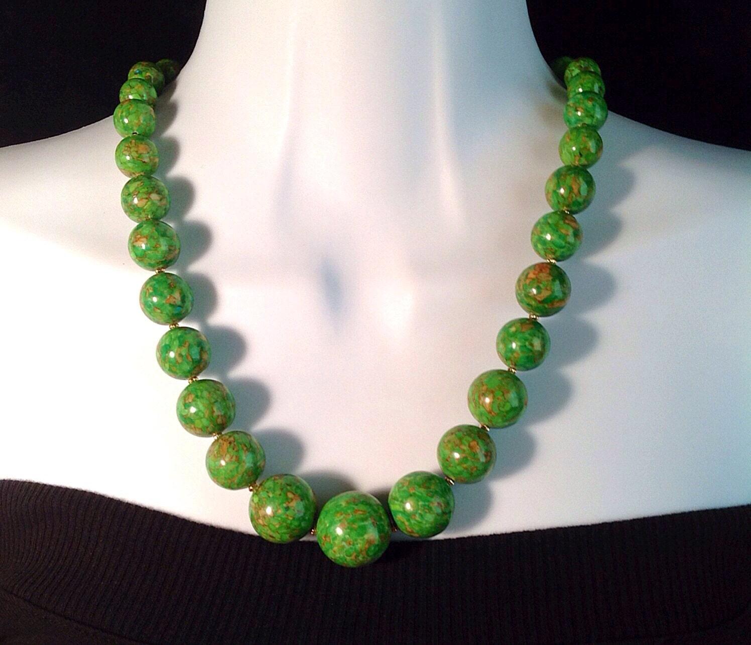 green turquoise necklace green turquoise necklace green