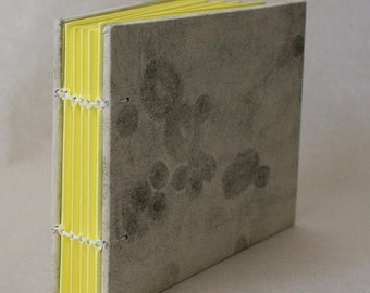 Blank Hand Bound Book With Hard Cover