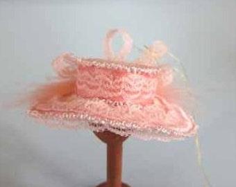 Hat - dollhouse miniature 1:12 scale