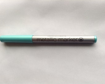 Teal marker etsy for American crafts metallic marker