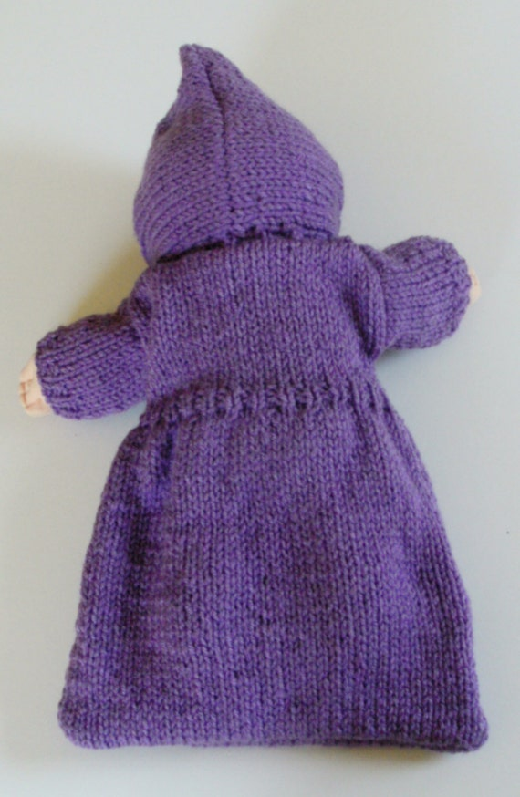 NEW PATTERN Purple Bunting/Sleeping Bag: Doll Clothes for ...