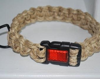 Thick Hemp Dog Collar