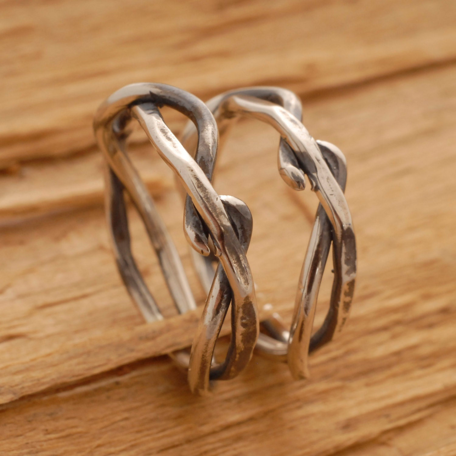 Tree Branch Ring Twisted Tree Branch Wedding