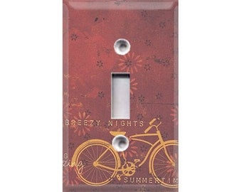 Boardwalk Collection - Bicycle Light Switch Cover