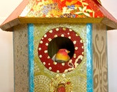 Ornamental Wooden Birdhouse