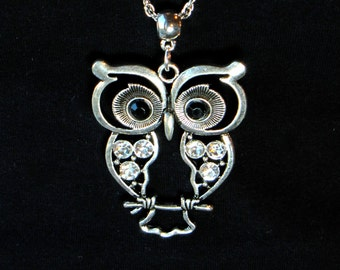 CLEARANCE - Owl Necklace