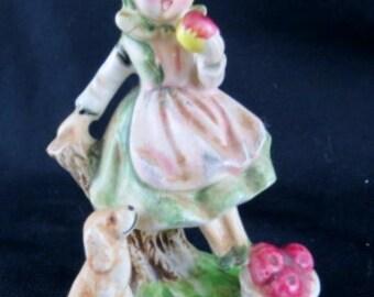 Pickwick Girl Figurine