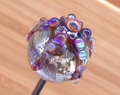 Handmade Lampwork Glass Marbles - RESERVED
