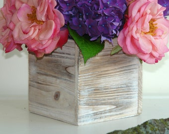wood box wood boxes square wood vase wedding flower pot centerpiece rustic garden chic wedding boxes