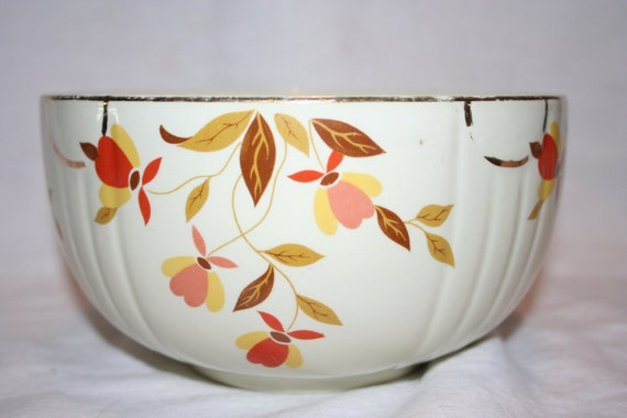 Hall S Superior Quality Kitchenware Bowl Jewel Autumn Leaf