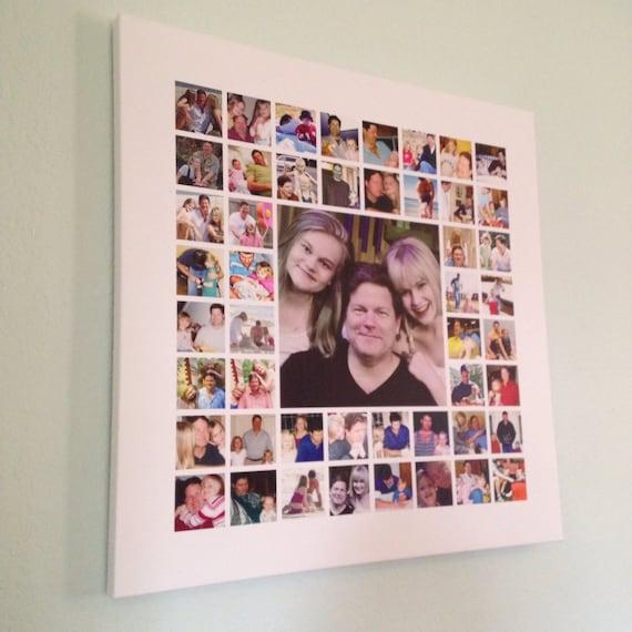 Items Similar To Large Photo Collage Custom Photo