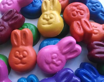 Easter Bunny Crayons set of 20