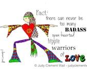 Love Warrior 5x7 Card