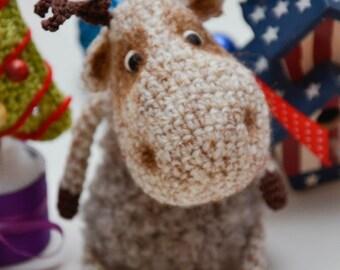 Crochet PATTERN Amigurumi  Jason moose PDF