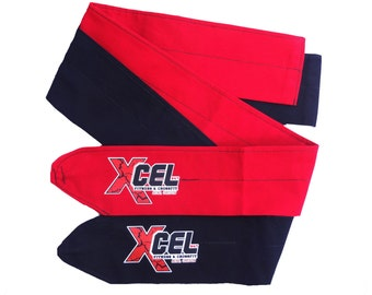 Custom logo wrist wraps.  contact us for pricing and details . We offer bulk discounts .