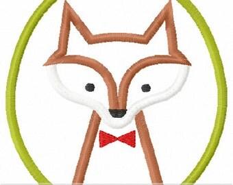 Mr. Fox Applique Design