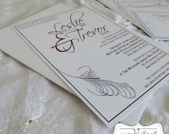 Wedding Invitation Set - The Leslie