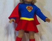 Supergirl costume for AG doll