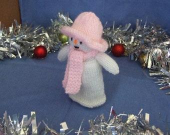 Snow Girl Christmas Toy