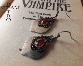 Victorian Earrings - Tears of a princess - Teardrop Earrings - Gothic Earrings - Gothic Jewelry - Christmas gift