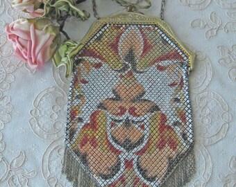 Antique Mandalian Mesh Purse - EXCELLENT