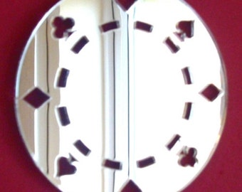 Poker Chip Mirror - 5 Sizes Available