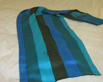 Vintage YSL Silk Scarf