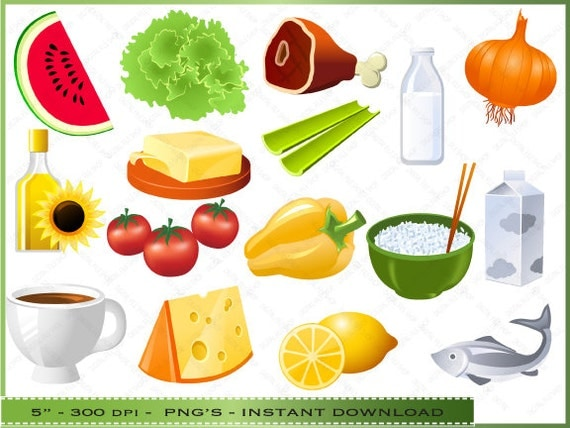 Food Clipart Clip Art of Health / Healthy by ...