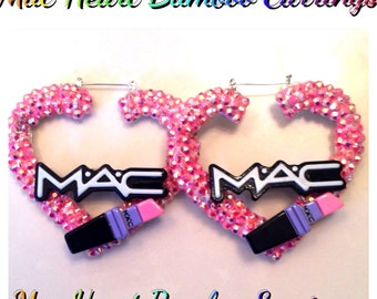 Mac Bamboo Earrings