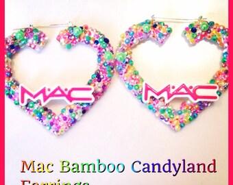 Mac cndyland bamboo earrings