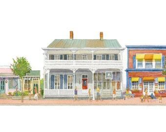 Talbot Street, St Michaels, Maryland