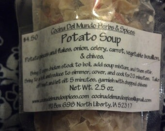 Potato Soup, Vegan Potato Soup