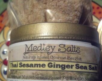 Thai Sesame Ginger Naturally Infused Sea Salt